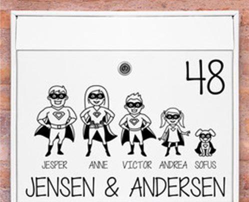 Photo of Invester i søde små postkasse stickers her